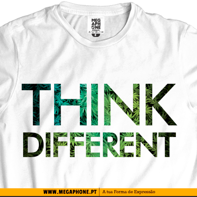 Weed think different tshirt