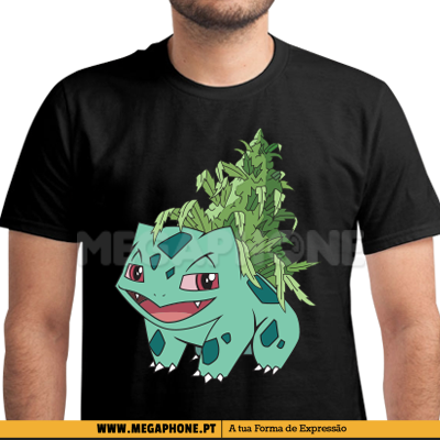 Weedusaur Bulbasaur pokemon shirt