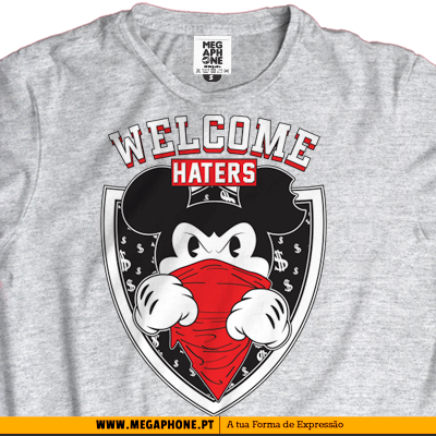 Welcome haters tshirt