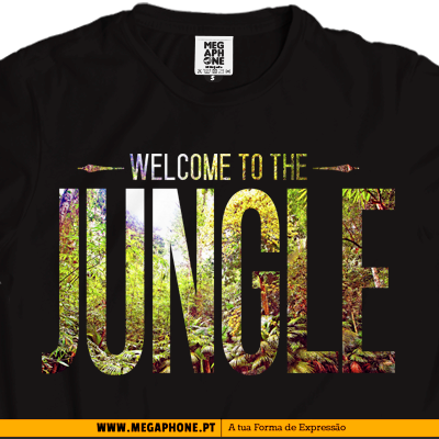 Welcome jungle tshirt