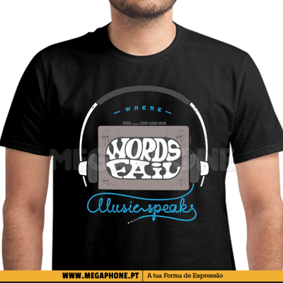 k7 Where the words fail shirt