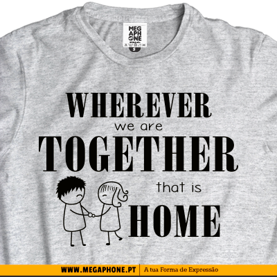 Wherever together tshirt