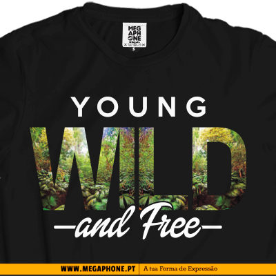 Young wild free tshirt